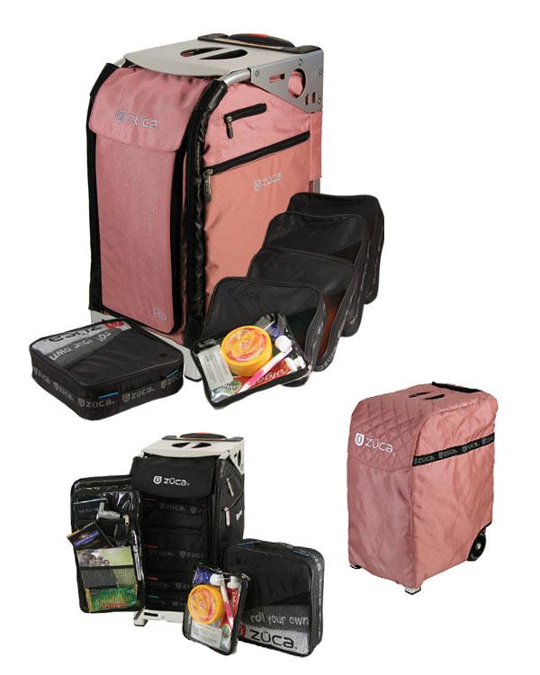 "Zuca Pro Makeup Case Uk: ""Pink"" Zuca Pro Makeup Case"